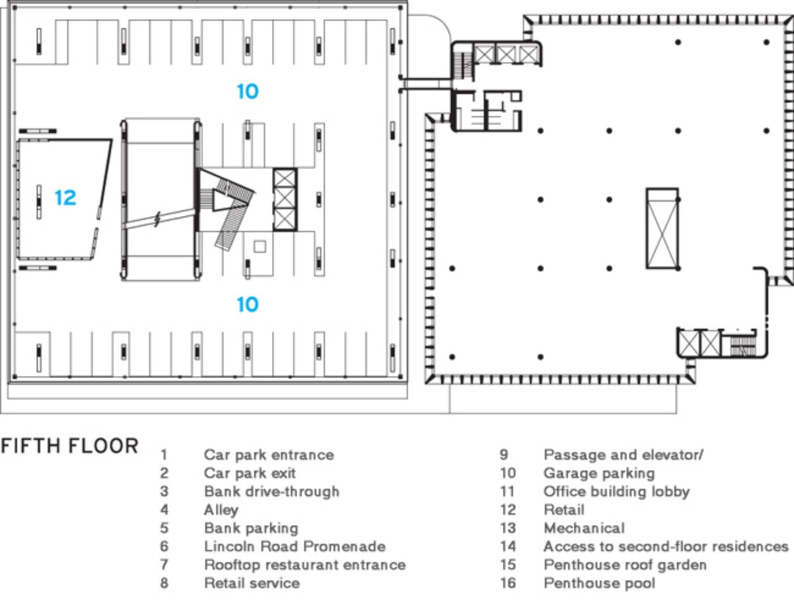 1111 Lincoln Road Drawings Herzog De Meuron 05 Wikiarquitectura