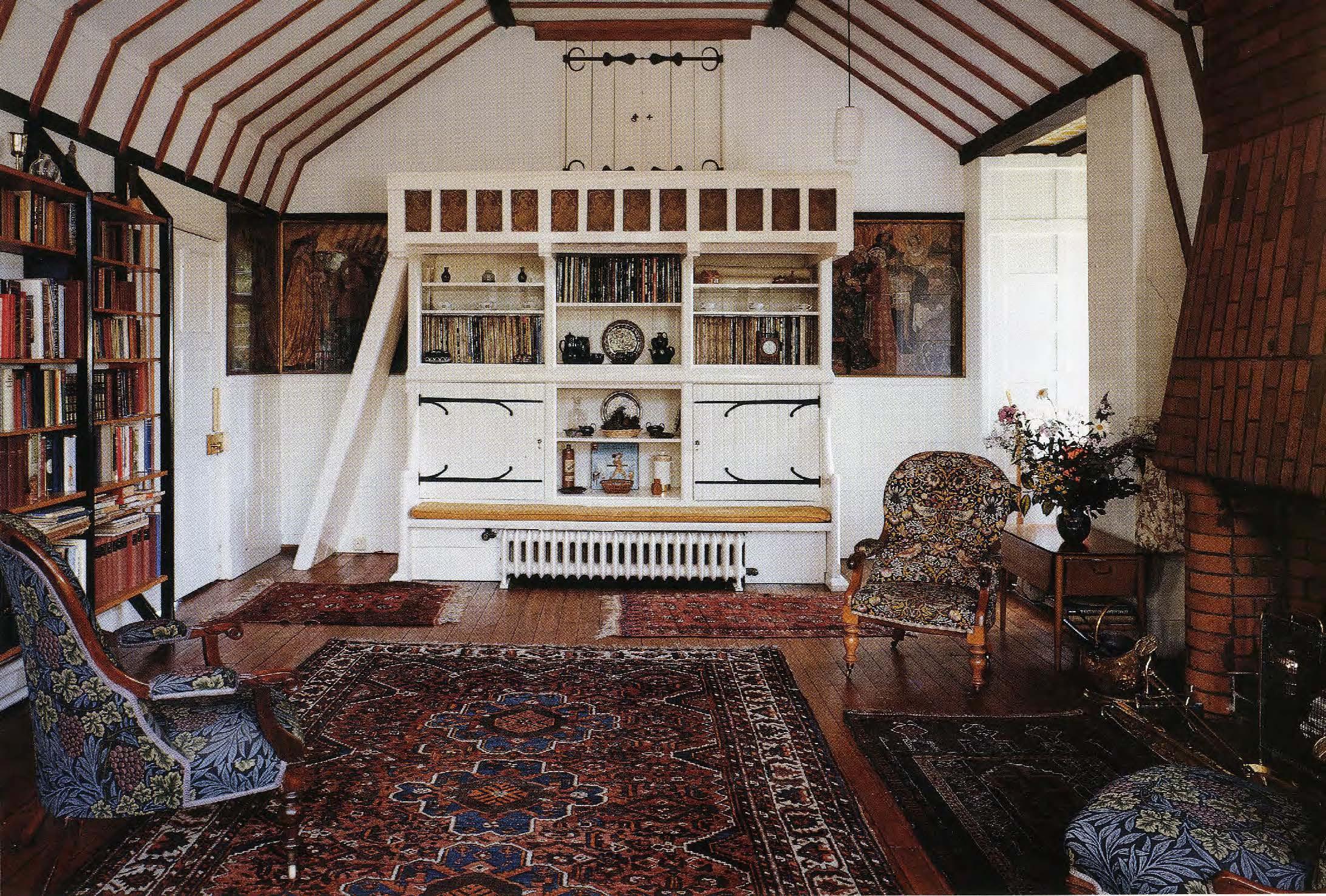 William Morris Red House Interior Wikiarquitectura